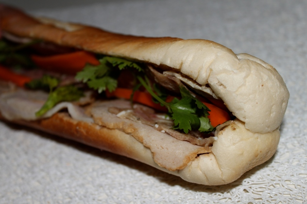 bánh mì close-up